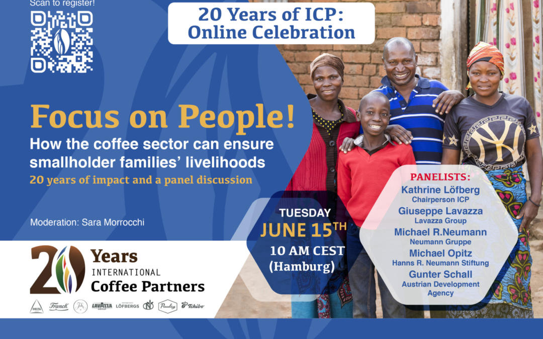 ICP-Event: Focus on People! How the coffee sector can ensure smallholder families' livelihoods.